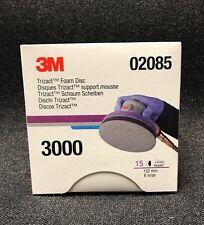 3M 02085 Trizact Hookit Foam Discs, 6 inch, 3000 grit,(3 Sheets) 3M-02085