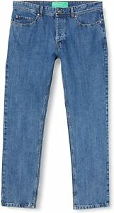 "BNWT Mens United Colors of Benetton Jeans Waist 33"" Leg 32"""
