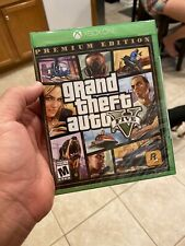 Brand New And Sealed Grand Theft Auto GTA V 5: Premium Edition Xbox One Game