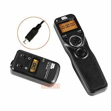 Wireless Timer Shutter Release Remote Control For Nikon D7200 D5600 D3400 MC-DC2