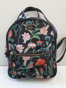 Kate Spade New York Small Bradley Wilson Road Hummingbird Floral Backpack