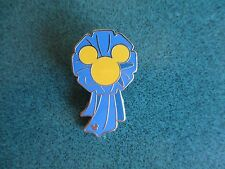 Wdw Hidden Mickey Blue Ribbon Fun Icons Pin Authentic
