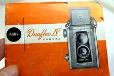 Kodak Duaflex Iv Photoguide Camera Guide Manual English