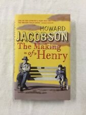 The Making of Henry by Howard Jacobson. 1st Edition ! Signed !  Fast Delivery !
