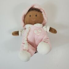 First Impressions My First Doll Pink Quilted Dark Skin African American Toy