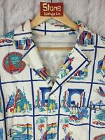 Levis Vintage Clothing LVC 1930s White Summer Linen Shirt Jacket £315 S New
