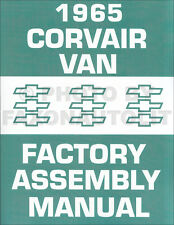 1965 Corvair Greenbrier Van Factory Assembly Manual Chevy Chevrolet 95 Parts