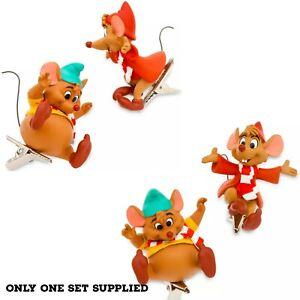 Disney Gus & Jaq Clip On 2021 Christmas Hanging Decoration,Cinderella
