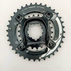 Sram / Truvativ 36/22T Chainring Set With GXP BCD 104mm 2x10 speed Black/White