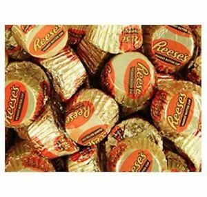 Gold & Orange Mini Reese's Peanut Butter Cups Candy Bulk
