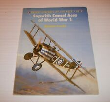 Osprey Aircraft of the Aces #52  Sopwith Camel Aces of World War I  SC  2003