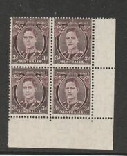 Brown Superb Australian Pre-Decimal Stamps