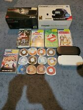 Lot of 17 PSP UMD Movies lot with psp speaker set ups and cases. TESTED.
