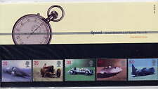 GB 1998 BRITISH LAND SPEED RECORD HOLDERS PRESENTATION PACK No.291