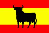 Spanish Bull Flag Spain Espana Spanish Sports Football Madrid 5'x3' 5ftx3ftflag