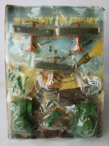 RARE VINTAGE 70'S DESERT FOX GREEK PLASTIC SOLDIERS SET + PLANES GREECE NEW NOS!