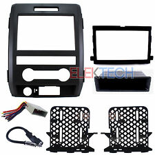 Radio Replacement Dash Kit 1 & 2-DIN w/Harness/Antenna for Ford F-150 Base XL