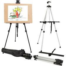 Folding Artist Tripod Easel Floor Stand Adjustable Display Art Painting Supplies