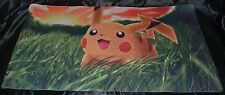 Pikachu Pika Electric Mouse Playmat Pokemon TCG Trading Card Game Play Mat Pad