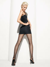 Wolford Zehra Fishnet Tights Color: Black Size: Small 19140 - 26