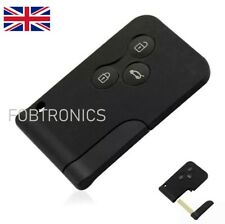 Replacement Fits Renault Megane Scenic 3 button Key Card Shell/Case + Blade A84