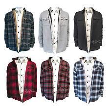 NWT FIELD & STREAM Sherpa Lined Flannel Shirt Jacket Long Sleeve S-2XL MSRP $100