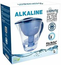 Alkaline Water Pitcher 8 cups.  Filters and Increases tap water PH to 8.5-9.0