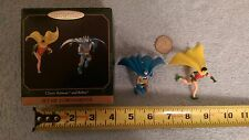 Hallmark Keepsake Classic Batman and Robin set of 2 ornaments