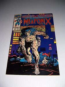Marvel Comics Presents # 80 Weapon X  Wolverine Comic Book
