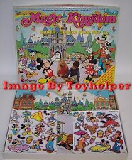 Disney's Magic Kingdom Super Deluxe Colorforms Play Set Unused in Box