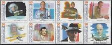 Micronesia 383-390 eighth block unmounted mint / never hinged 1994 Pioneers the