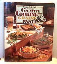 Creative Cooking Grains & Pasta London 1982 First Edition First Print Hcdj