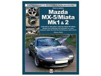 MX5 Enthusiasts DIY Workshop Restoration Manual Book MX-5 Miata Mk1 Mk2 1989>05