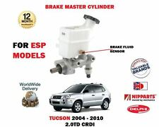 FOR HYUNDAI TUCSON 2004-2010 NEW BRAKE MASTER CYLINDER VEHICLES WITH ESP