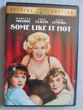 Some Like It Hot (Dvd, 2001) Special Edition, Black & White Very Good Condition