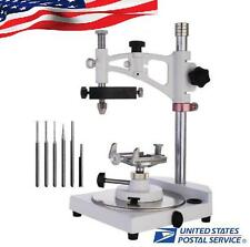 US Adjustable Dental Lab Parallel Surveyor Equipment Handpiece Holder DentalTool
