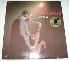 double album 33t John Coltrane, live 1962