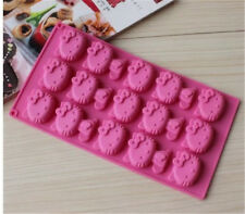 Hello Kitty Cat Silicone Mould Baking Icing Cake Chocolate Mold