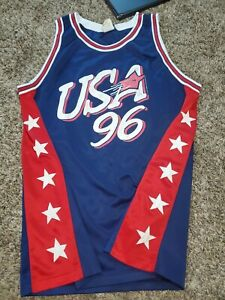 Team Oasis Olympics 1996 USA Basketball Dream Team Sz Mens XL Jersey 96 Vintage