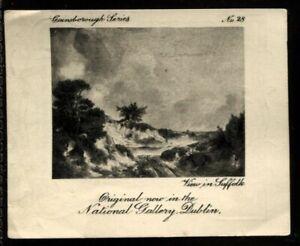 Tobacco Card, Ardath, GAINSBOROUGH SERIES, 1915, View in Suffolk, #28