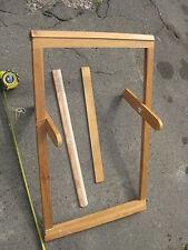 "Old  Wooden Sweden tapestry  Weaving Loom 30"""