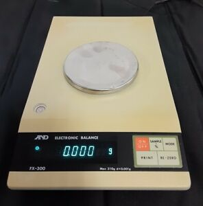 A&D FX-300 Benchtop Precision Weighing Balance Scale