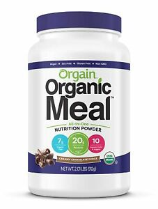Orgain Organic Protein Superfood Meal All-In-One Nutrition 2 lbs CHOCOLATE FUDGE