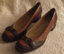 "Naturalizer N5 Comfort Prema 7 1/2 N Womens Low Heel Dark Brown 10"""