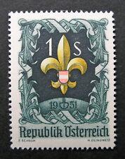 Austria 1951 Scott #576 Mnh Og - Scott 2010 Catalogue Value $5.25!