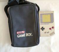 Nintendo Game Boy +Case Original DMG-01 Gray Handheld System Console Tested READ