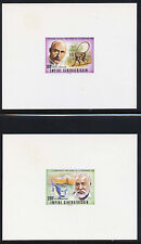 Central Africa C180-2 Deluxe Sheets MNH Nobel Prize Winners, Kipling, Hemmingway