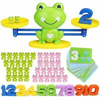 Icnow 82 Pack Balance Math Game Early Education Toy Frog Balance Scale kids toy