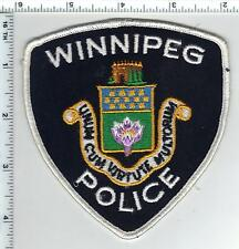 Winnipeg Police (Canada) Shoulder Patch from 1990