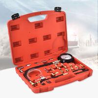 0-140PSI Fuel Injection Pressure Test Pressure Gauge Kit Injector Pump Tester